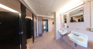 LaPlata Hall - Community Bathroom