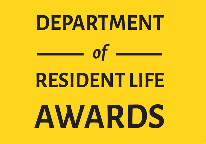 Resident Life Awards and Class of 2017 Graduating Seniors, view pdf