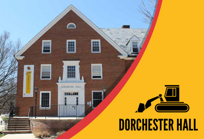 Renovation of Dorchester Hall website