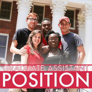 Graduate Assistantship Position, Department of Resident Life