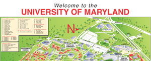 Campus Map University Of Maryland.Move In Maps