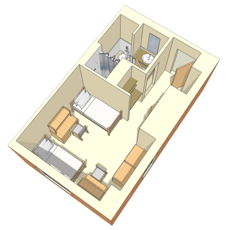 Double Room   Elevated Bed Part 42