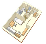 Oakland Hall Room Layouts