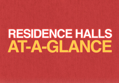 Residence Halls at a Glance