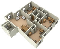 Typical Layout of a Leonardtown Apartment