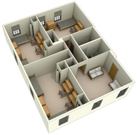 Typical Layout of a Suite