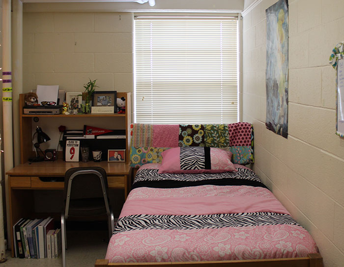 Typical room layouts at the university of maryland