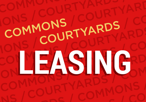 South Campus Commons and The Courtyards Leasing Opportunities