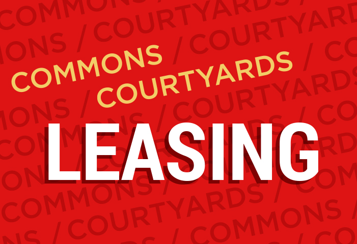 Leasing at The Courtyards and South Campus Commons