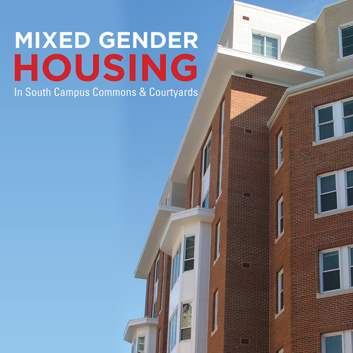 Mixed Gender Housing in South Campus Commons and The Courtyards Image