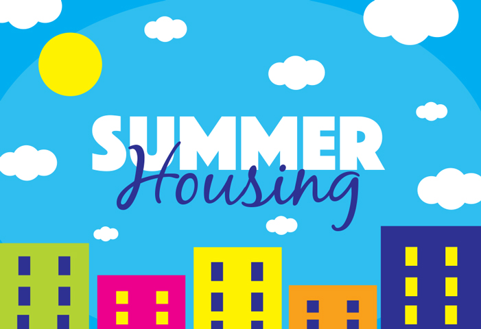 Summer Housing website