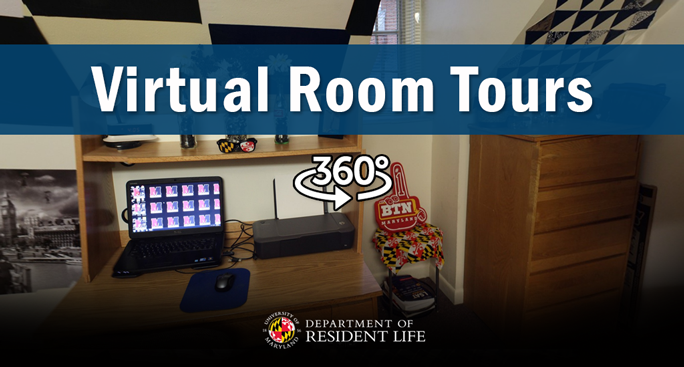 Virtual Dorm Room Tour