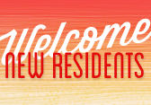 Welcome New Residents