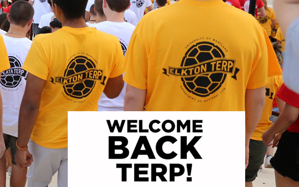 Welcome Back Elkton Hall Terps